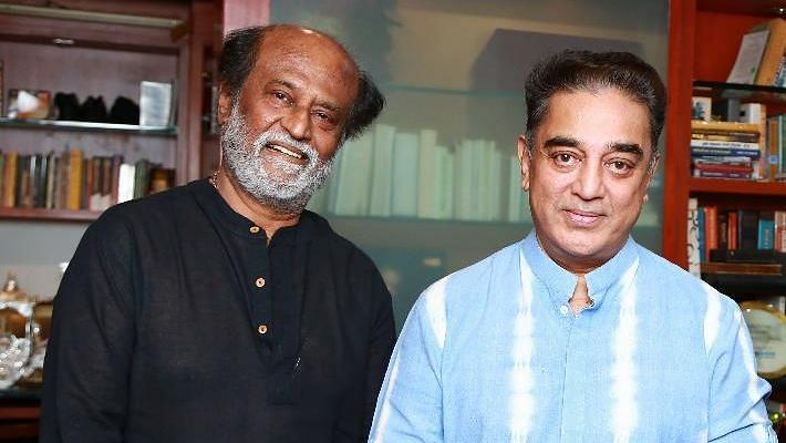 Actor Rajinikanth Tuesday said he was open to a tie up with fellow actor-turned-politician Kamal Haasan.