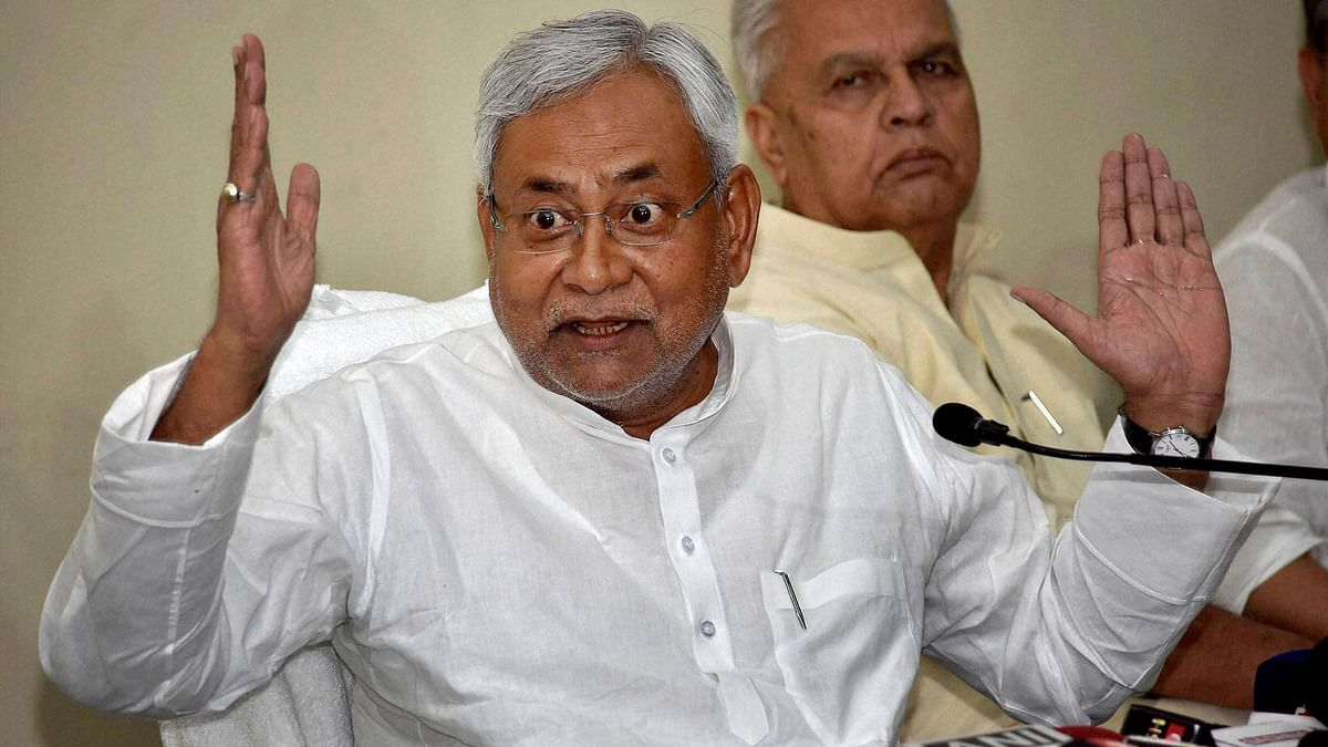 'It is Condemnable': Nitish Kumar on Pragya Thakur's Godse Comment
