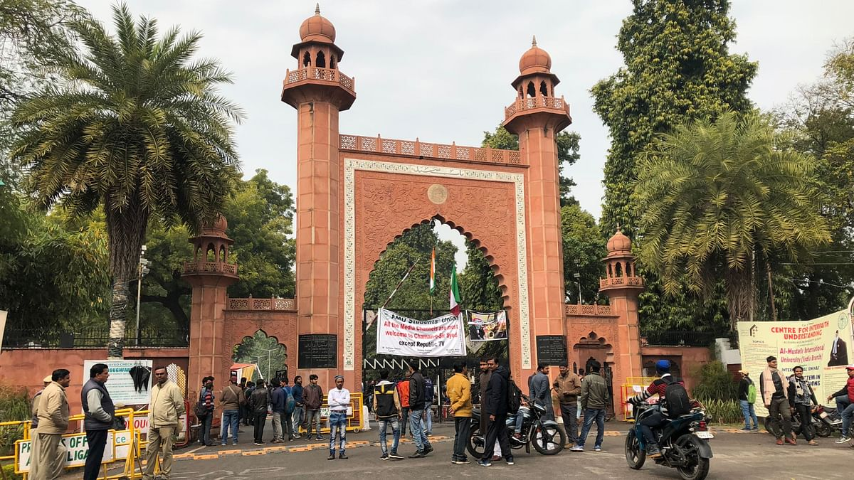 AMU Students End Protest After Assurance From Varsity Officials