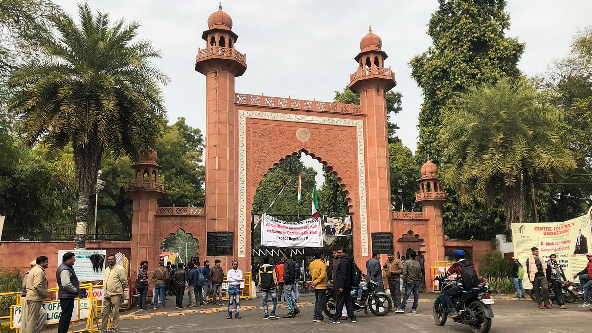AMU Prof Booked Over Post on J&K, Hindu Mahasabha Filed Complaint