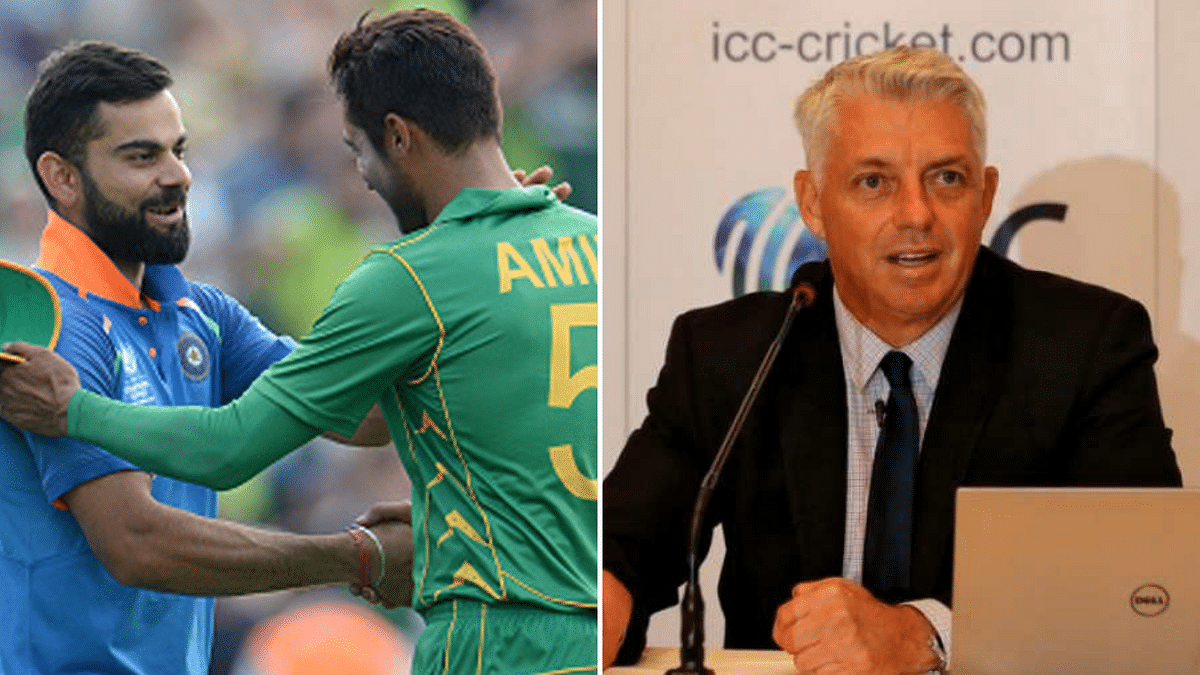 ICC CEO Dave Richardson has said there is no threat to the India-Pakistan clash at the ICC World Cup 2019 as both teams are contractually bound to play.