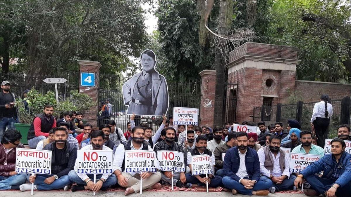 DU Bans Protest on Campus, Student Activists Slam 'Nazi Command'