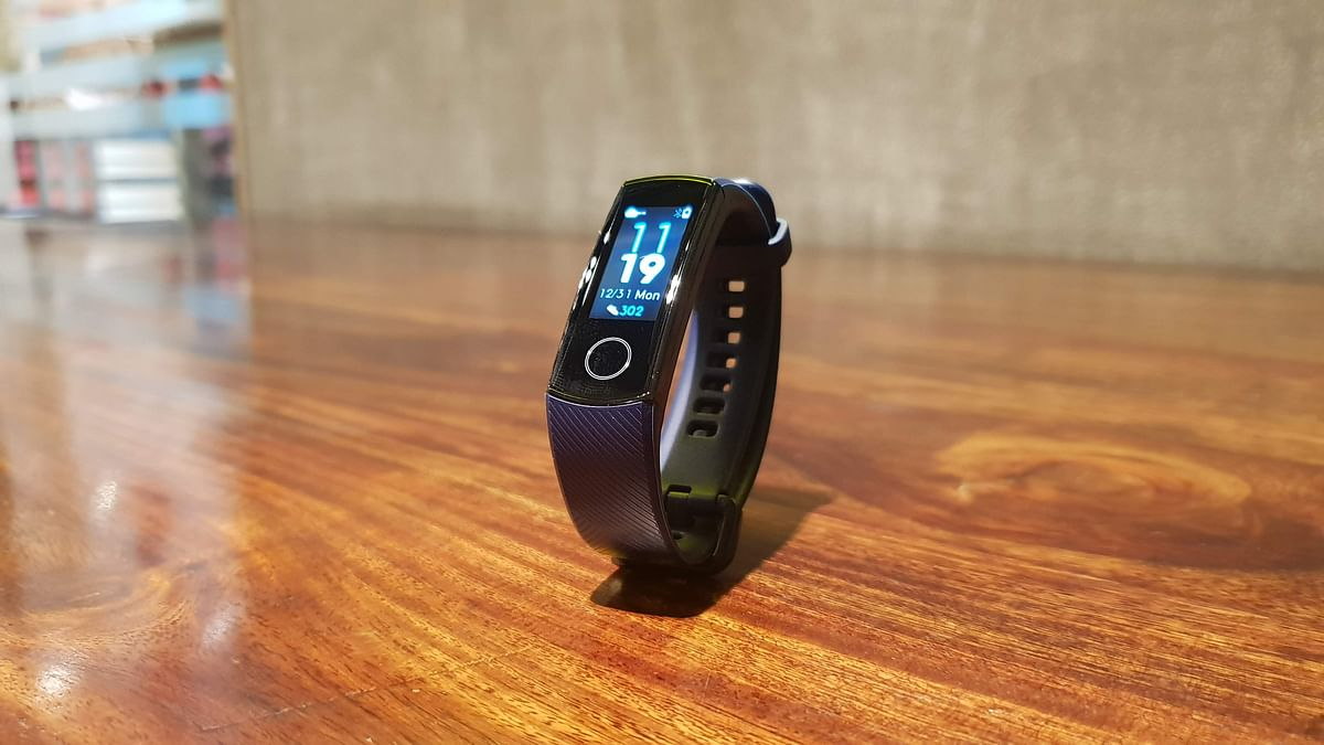 The Honor Band 4 comes with an OLED display.