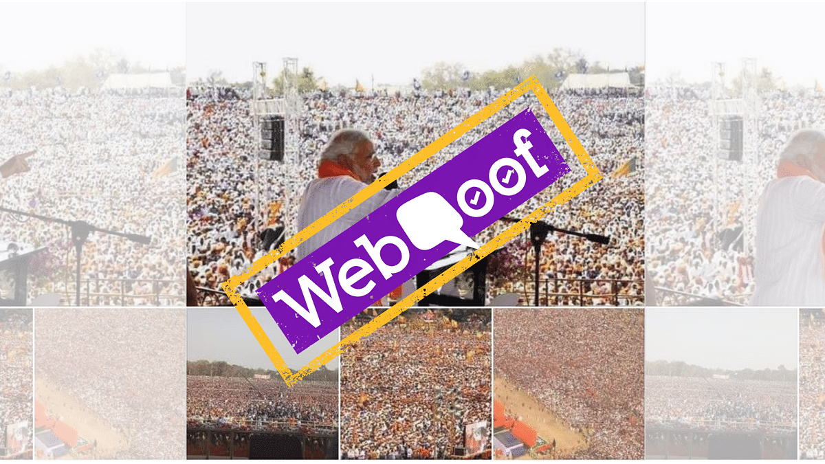 Old Images Used To Highlight PM Modi's West Bengal Rally's Success