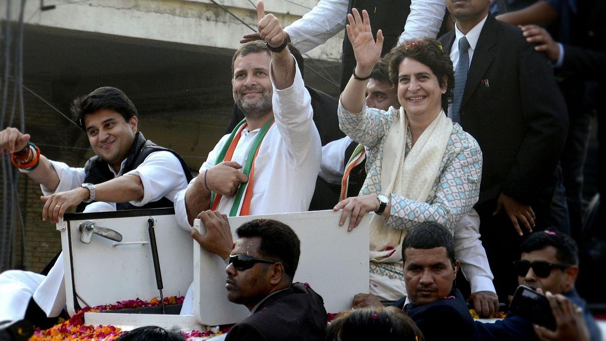 Congress president Rahul Gandhi has placed 41 Lok Sabha constituencies in Uttar Pradesh under the charge of Priyanka Gandhi Vadra and 39 parliamentary segments under Jyotiraditya Scindia.