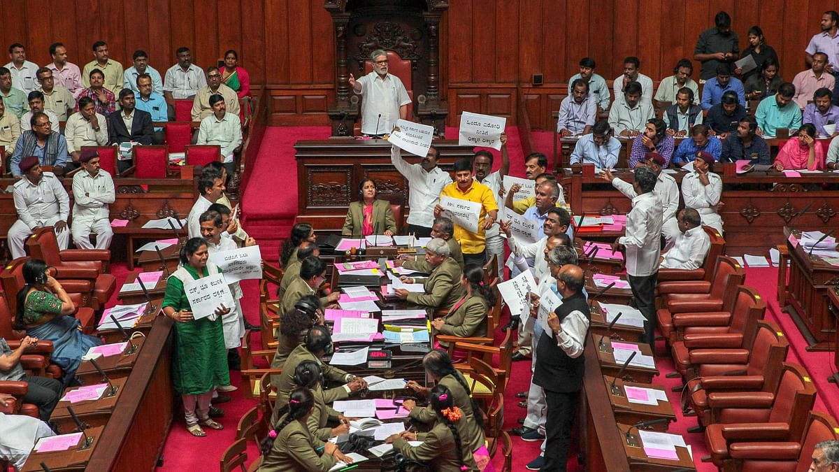 BJP stages a protest on Thursday.