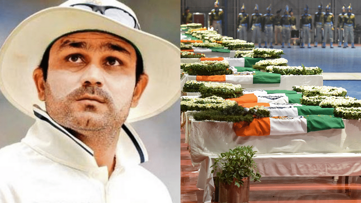 Virender Sehwag has offered to sponsor the education of kids of Pulwama attack martyrs.