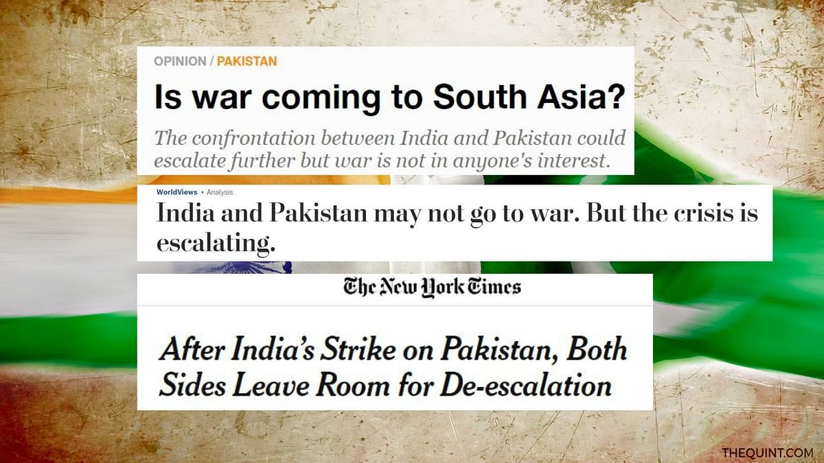 'Is War Coming?': Foreign Media on  India-Pakistan Crisis