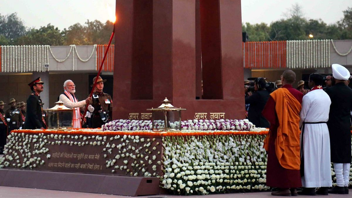 PM Modi attends Dedication Ceremony of National War Memorial in New Delhi. Image used for representational purposes.