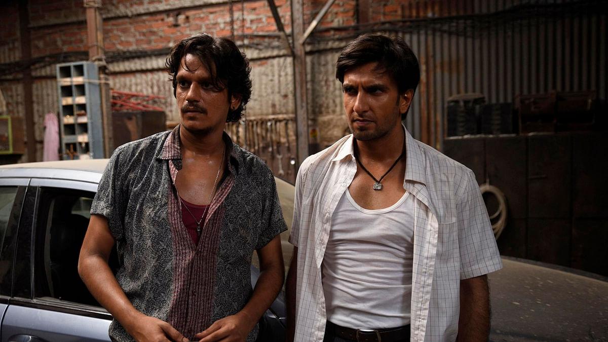 Vijay Varma and Ranveer Singh in <i>Gully Boy</i>.
