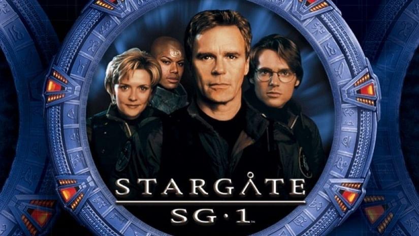A Stargate poster.