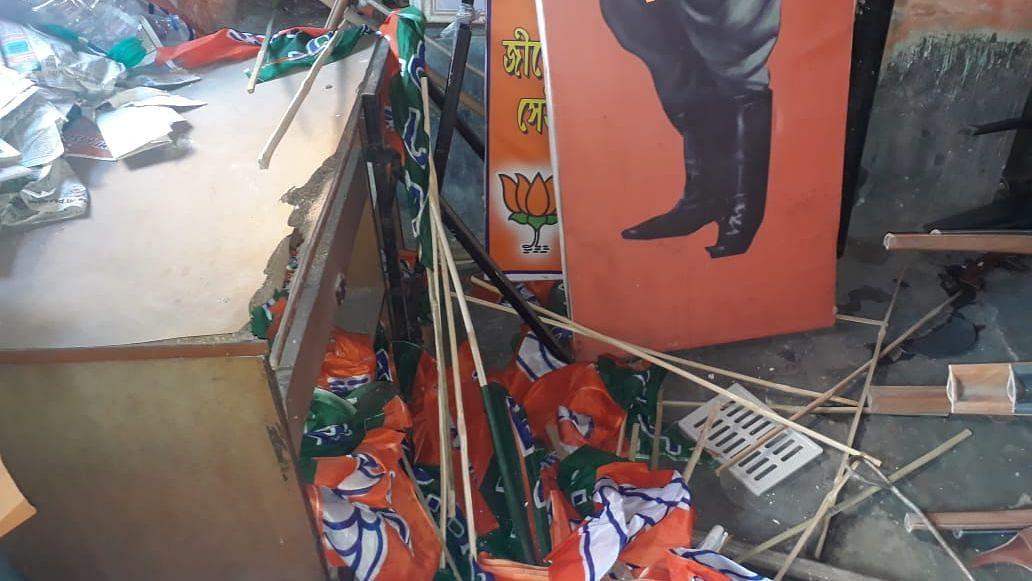 BJP Office Vandalised in Kolkata, Party Blames 'TMC Goons'