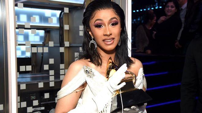 Cardi B won the Grammy for Best Rap Album.