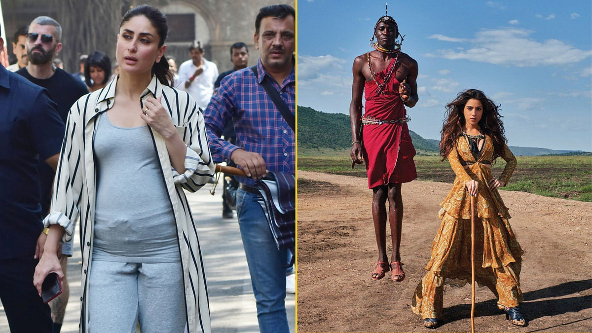 QuickE: Kareena's Look in 'Good News'; Sara Ali Khan Trolled