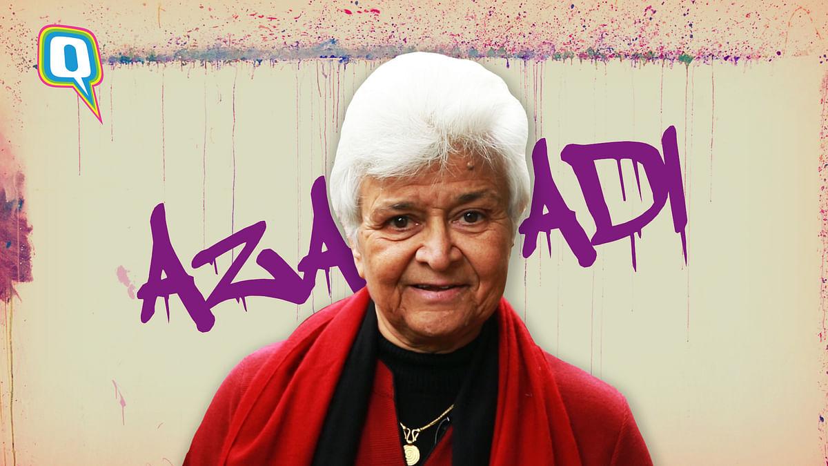 Did Kamla Bhasin Inspire Gully Boy Song 'Azaadi'? She Probably Did