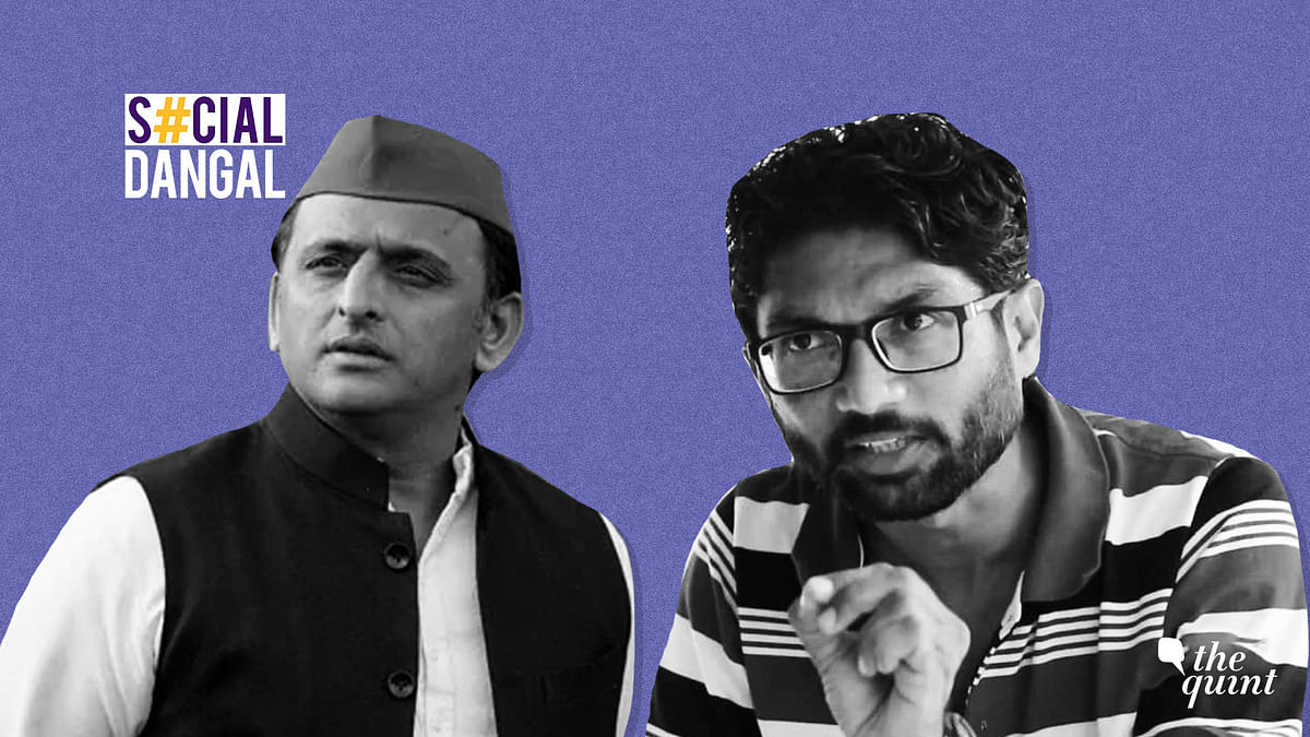 While Jignesh Mevani's college event in Ahmedabad was cancelled, Akhilesh Yadav was stopped from visiting Allahabad University.