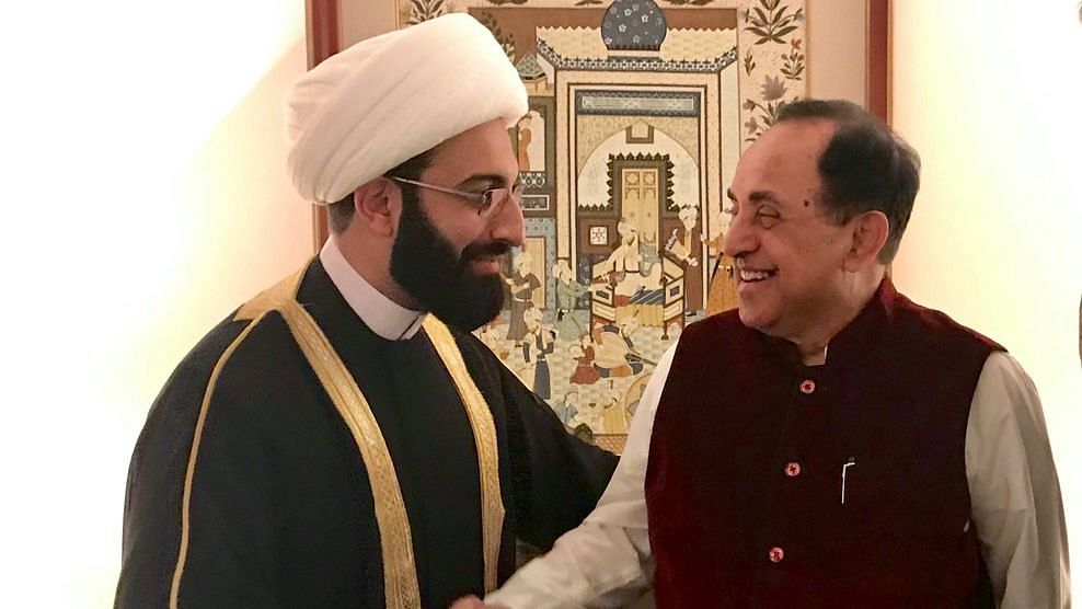 Self-proclaimed peace advocate Imam Mohamad Tawhidi is currently in India to attend a cultural festival.