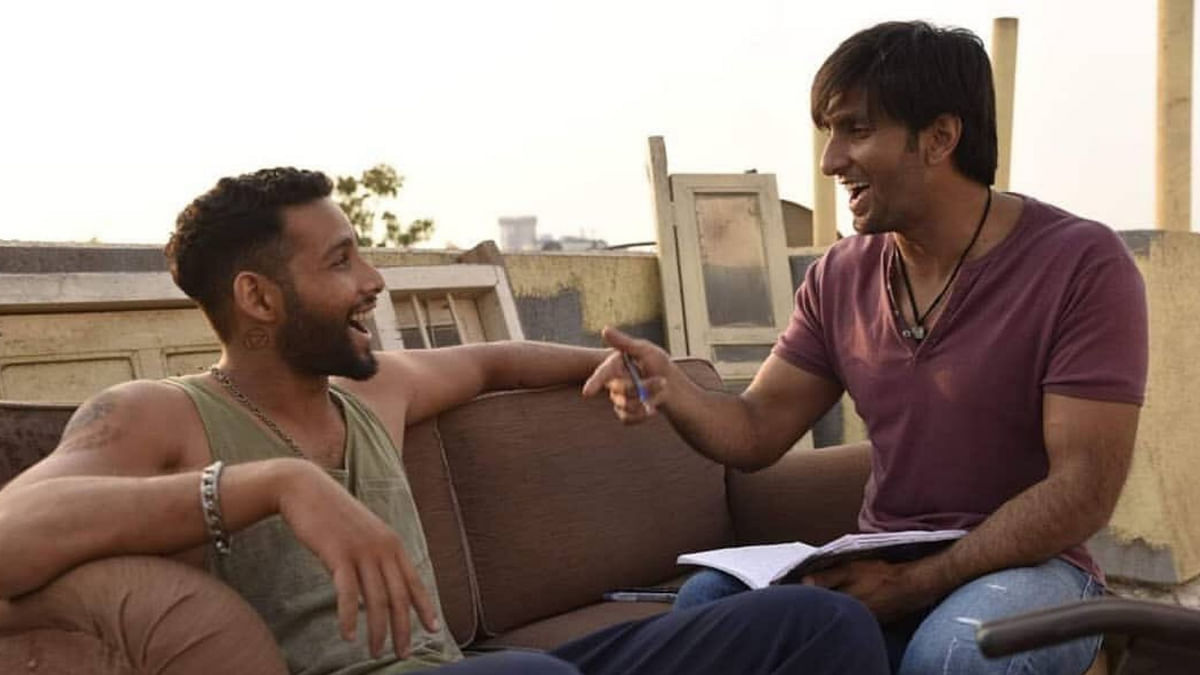Siddhant Chaturvedi and Ranveer Singh play rappers in <i>Gully Boy</i>.
