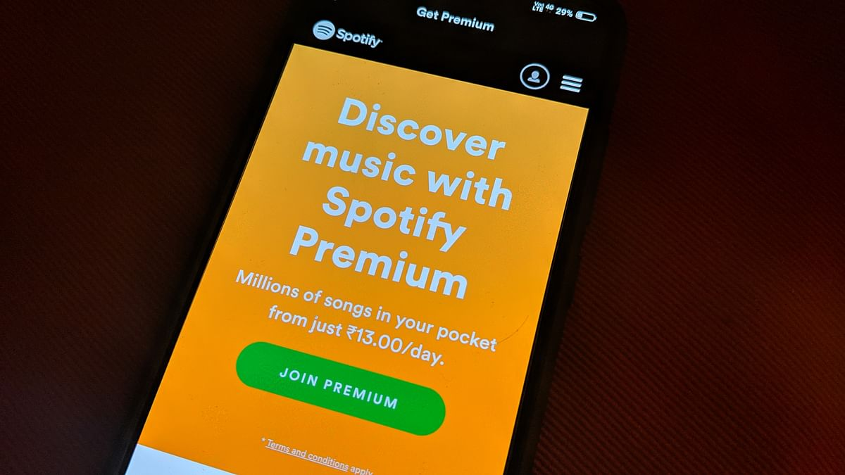 Spotify launched in India earlier this year.