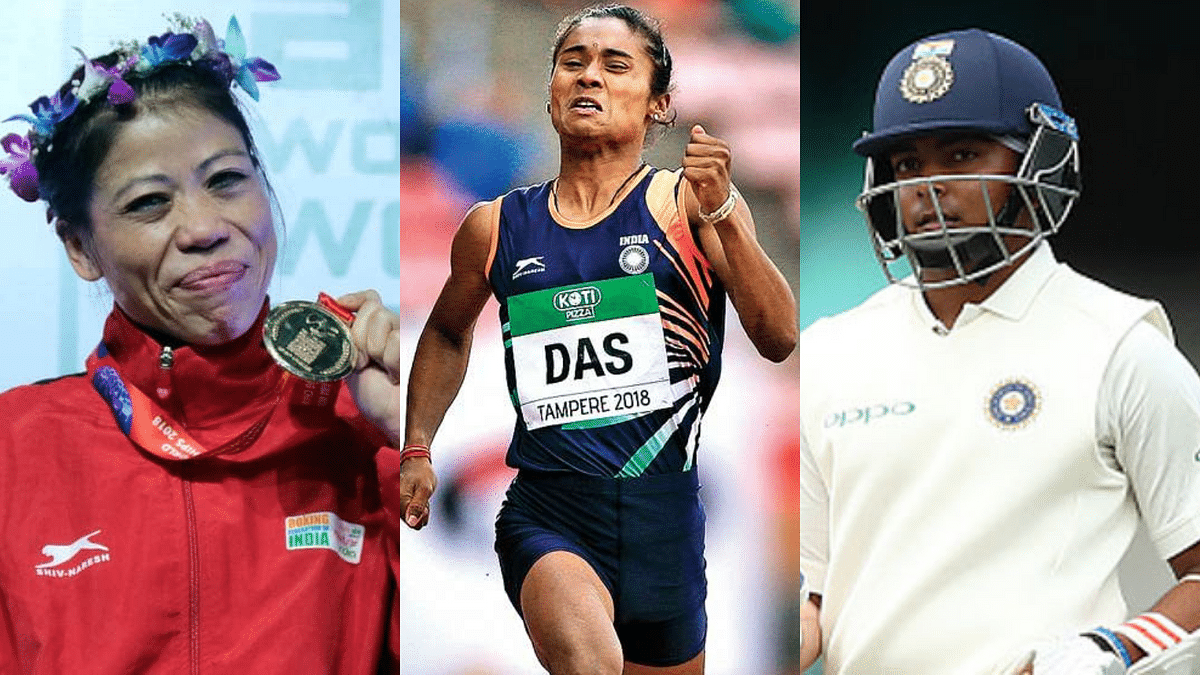 Indian Sports Honour: Prithvi, Hima, Mary Kom Among Nominees