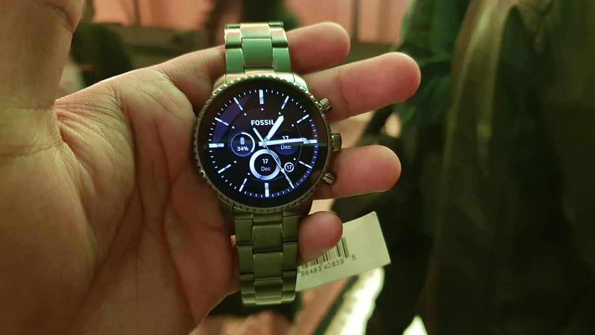 The Fossil Gen 4 Explorist HR comes with multiple strap options.