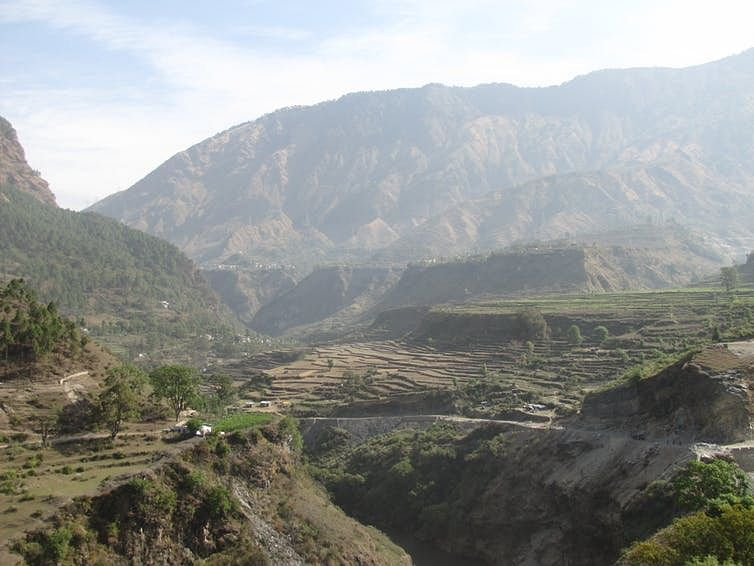 Sediments laid down in Himalayan valleys support agriculture, but also tell us the ancient story of rivers that carried them.