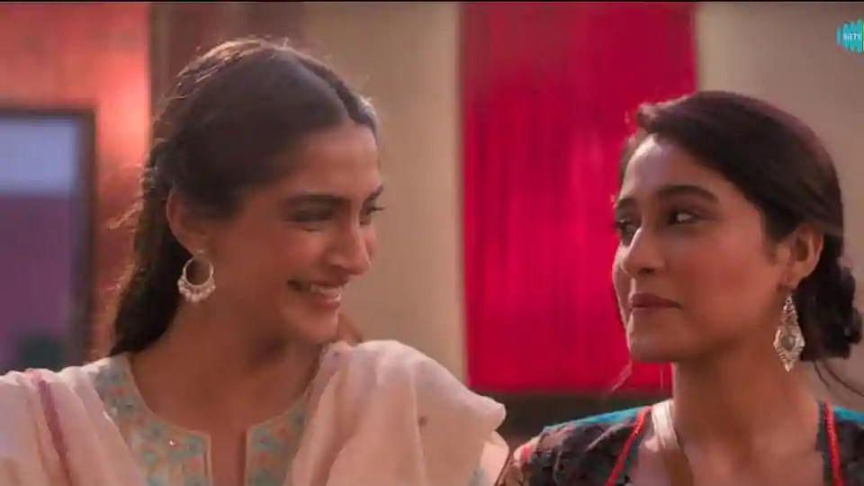 Sonam Kapoor and Regina Cassandra.