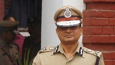 Kolkata Police Commissioner Rajeev Kumar.