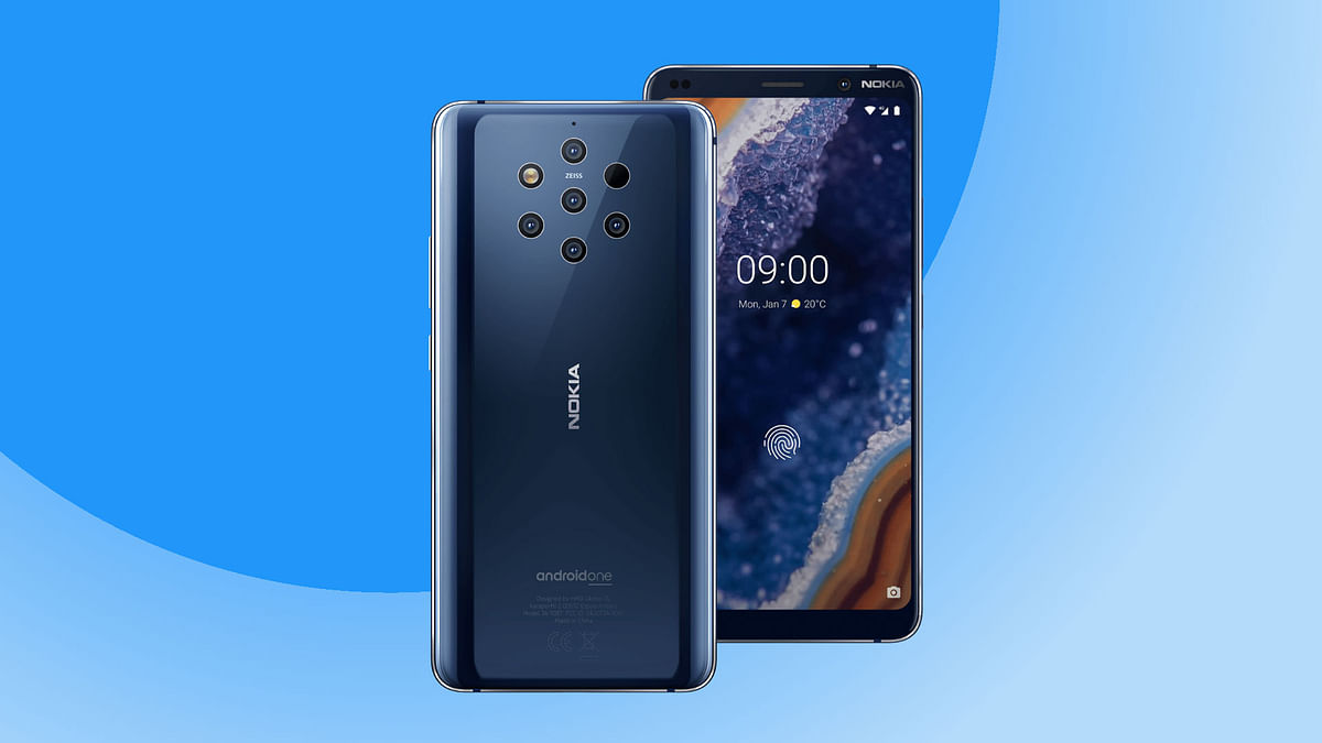 Nokia 9 PureView Launches With Five Cameras in India at Rs 49,999