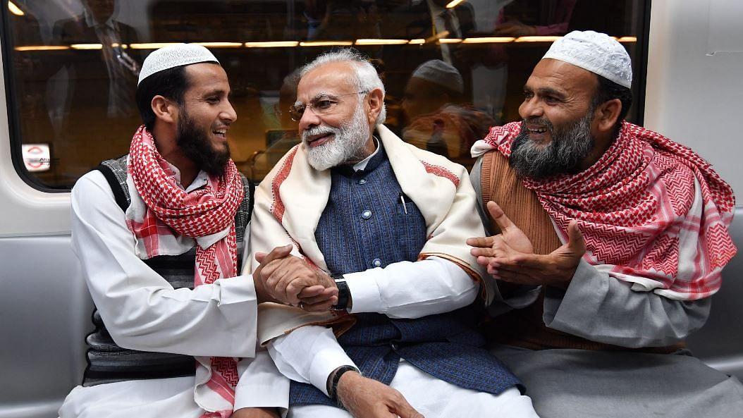 PM Modi Boards Delhi Metro to Inaugurate 'Largest' Bhagavad Gita