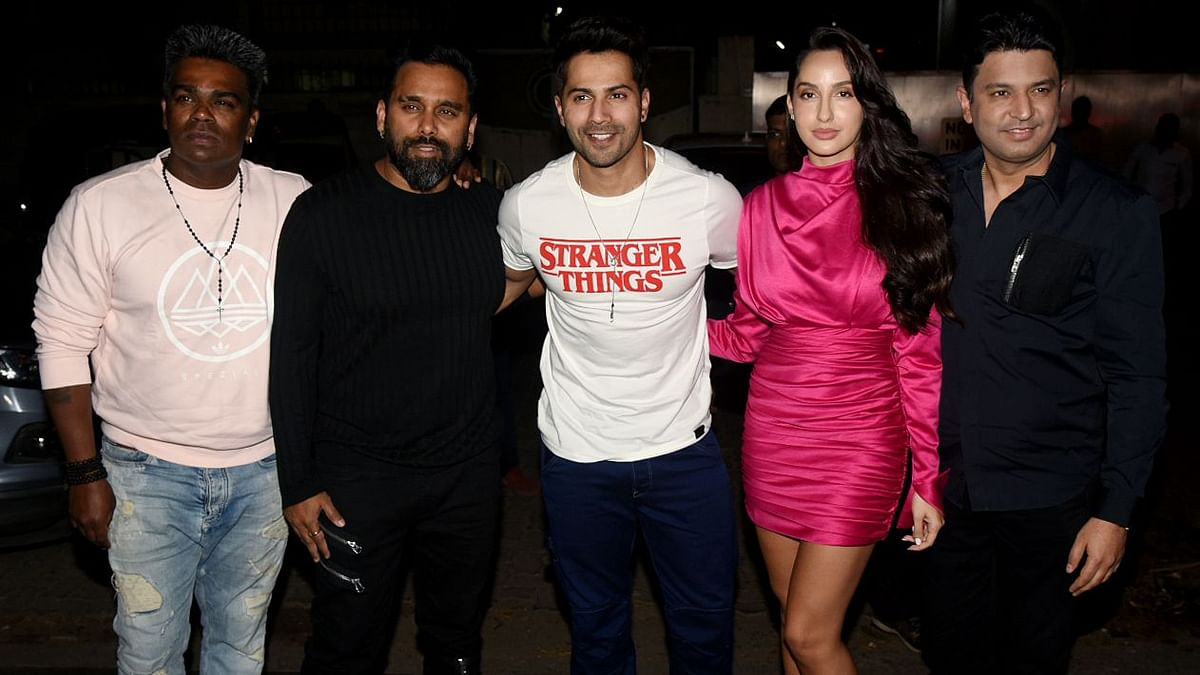 Watch Varun Dhawan Twerk for Norah Fatehi's Dance Challenge