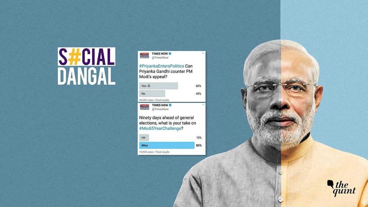 How Twitter Polls Are Going Horribly Wrong For Narendra Modi & BJP