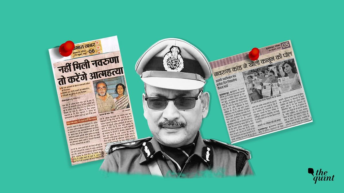 Newly-appointed Bihar DGP Gupteshwar Pandey had made headlines in connection with the Navaruna case some years back.