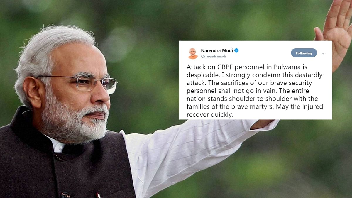 'India Stands United': Politicians Decry Attack in J&K's Pulwama