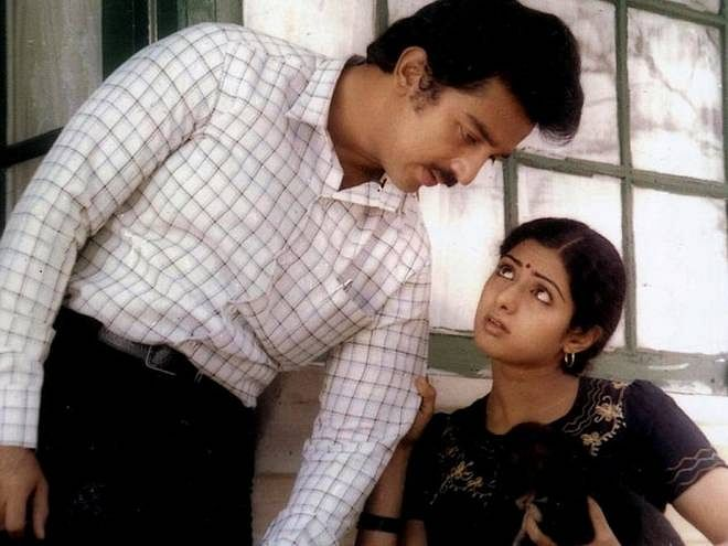 Sridevi and Kamal Haasan play off each other beautifully.