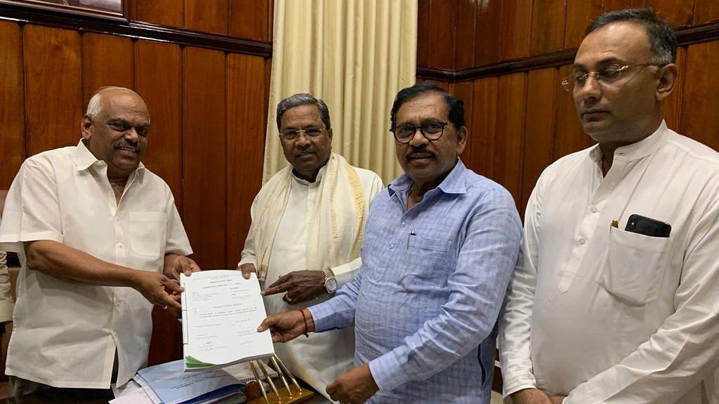 Karnataka Budget: Finance Bill Passed Amid BJP Protests