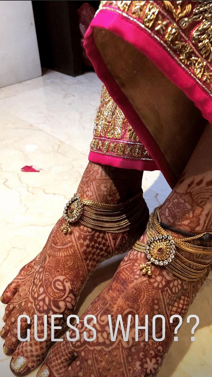 Makeup artist Prakruthi Ananth has shared a few Instagram stories giving a sneak peek.