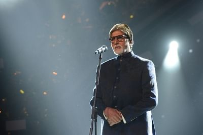 Mumbai: Actor Amitabh Bachchan at Umang Awards 2019 in Mumbai on Jan. 27, 2019 (Photo: IANS)