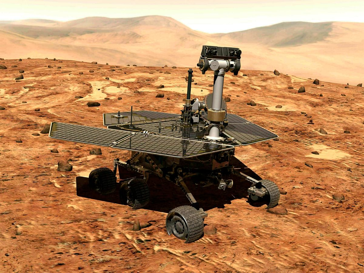 NASA's  Opportunity Rover Dies 15 Yrs After Landing on Mars