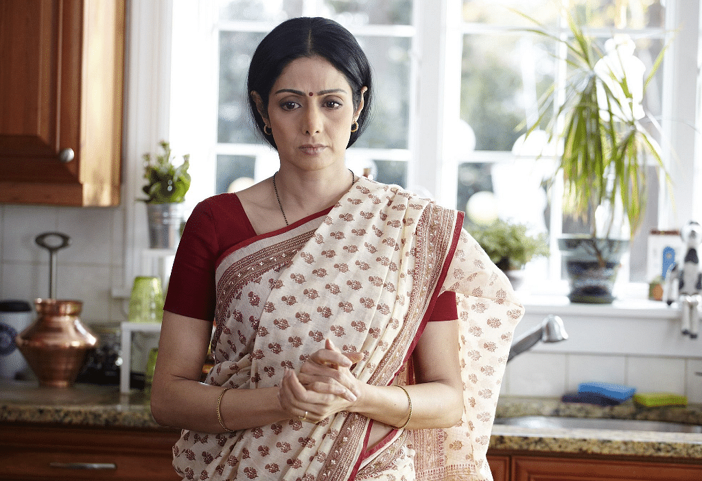 Sridevi in her comeback film <i>English Vinglish</i>.