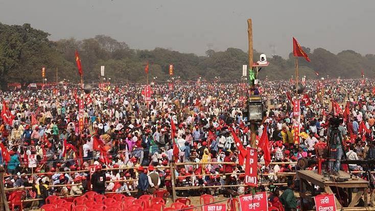 At CPI(M)'s Kolkata Rally, The Slogan is 'BJP Hatao, TMC Hatao'