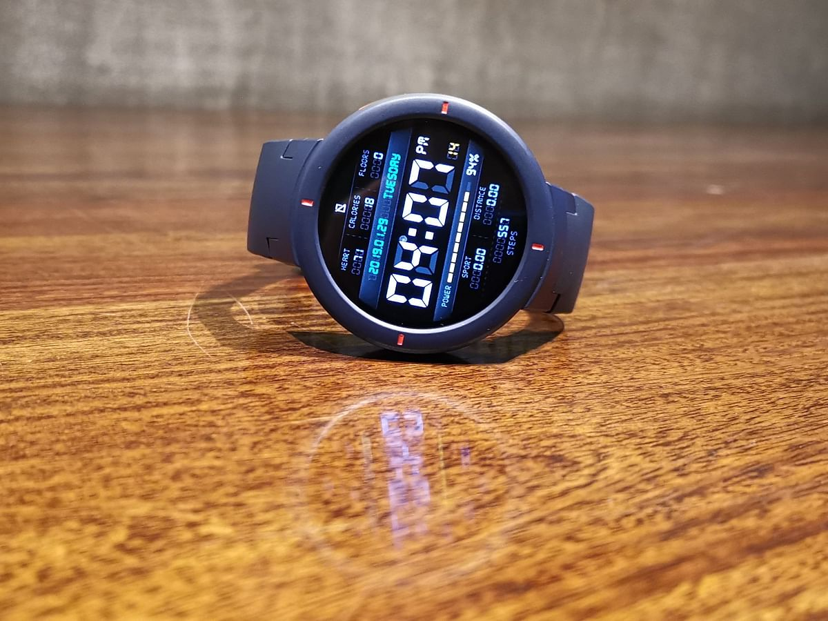 The Amazfit Verge supports Android & iOS.