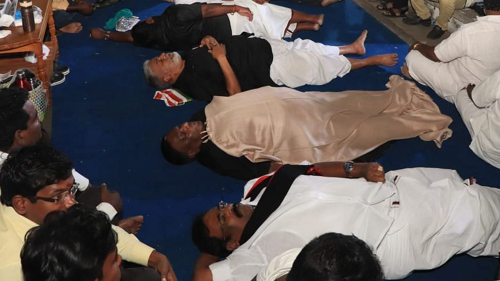 Narayanaswamy is demanding that Bedi accord sanction for 39 government proposals, including a free rice scheme.