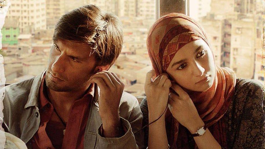 Ranveer Singh and Alia Bhatt in Gully Boy.