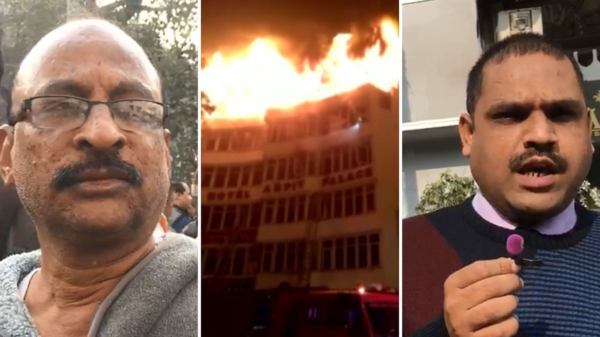 Leaned Out of Window to Keep Breathing: Delhi Hotel Fire Survivor