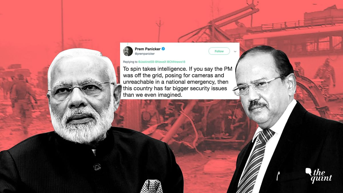 "A news report, which has now been deleted, claimed that Prime Minister Narendra Modi is ""miffed"" with NSA Ajit Doval over ""late info""."