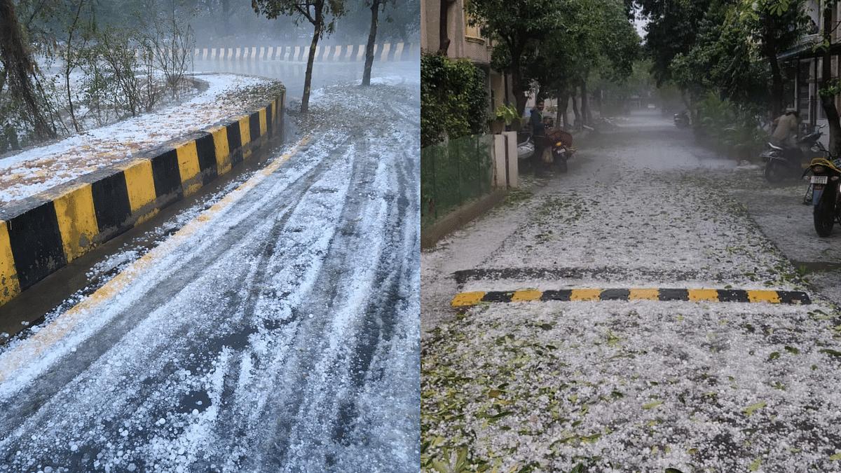 Hailstorm, Heavy Rainfall Disrupts 38 Flights in Delhi