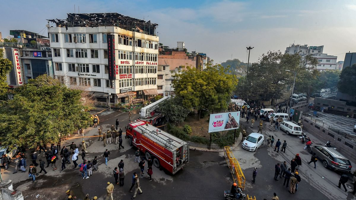 The fire that broke out at a hotel in Delhi's Karol Bagh on Tuesday morning has claimed at least 17 lives.