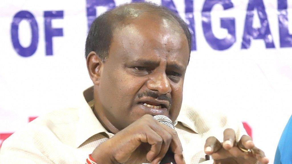Karnataka CM HD Kumaraswamy.