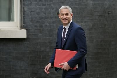 Stephen Barclay. (Xinhua/Tim Ireland/IANS)